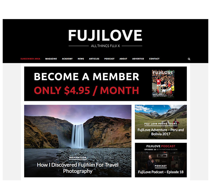 """How I Discovered Fujifilm For Travel Photography"" by Peter Meller FUJILOVE"