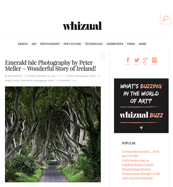 Whizual - Wonderful Story of Ireland! Emerald Isle Photography by Peter Meller