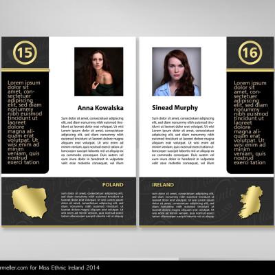 Miss Ethnic Ireland - Brand Identity