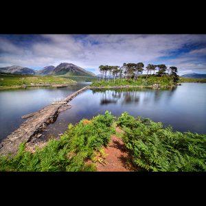 """Ireland 108 - """"Jurassic Park"""" - Derryclare Lough, Connemara"""