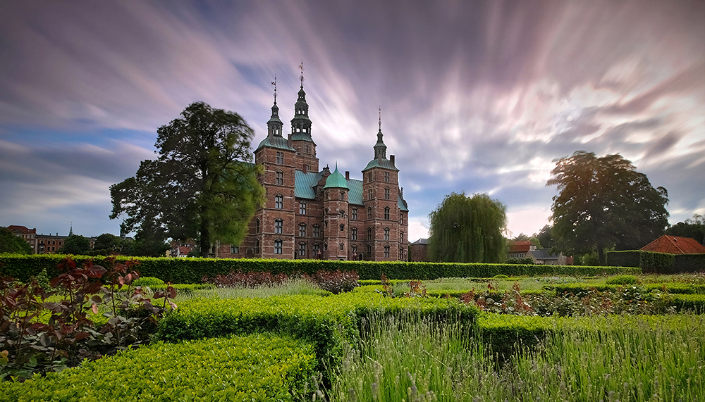 """The Moment in Time"" - Rosenborg Castle, Copenhagen, Denmark"