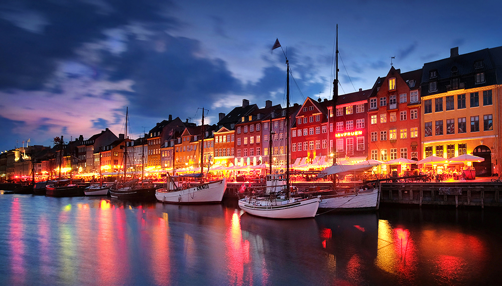 """Nyhavn by Night"" - Copenhagen, Denmark"