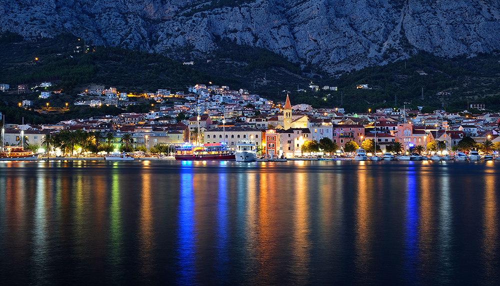 """Festival of Lights"" - Makarska, Croatia"