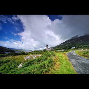 "Ireland 110 - ""Shadow and Light"" - Errigal Church, Co. Donegal"