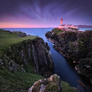 "Ireland 71 - ""Perfect Evening"", Fanad Head, Co. Donegal"
