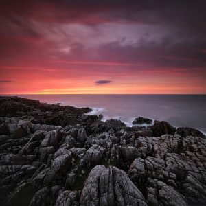 "Ireland 73 - ""Fire In The Sky"", Fanad Head, Co. Donegal"