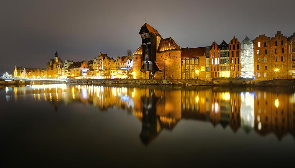 """""""Gdańsk by Night"""" - Gdańsk, Poland"""