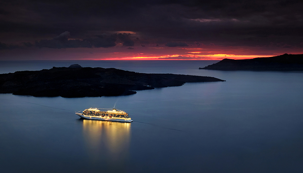 """Safe Harbour"" - Santorini, Greece"