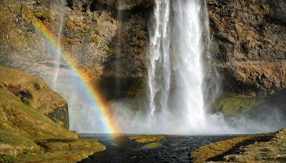 """Somewhere Over the Rainbow"" - Sejlandafoss, Iceland"