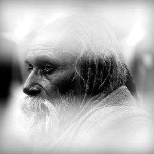 India 16 - Beggar from Bodhgaya