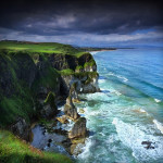 "Ireland 43 - ""Under the Dark Sky"" Vol.1, Portrush Cliffs, Northern Ireland"