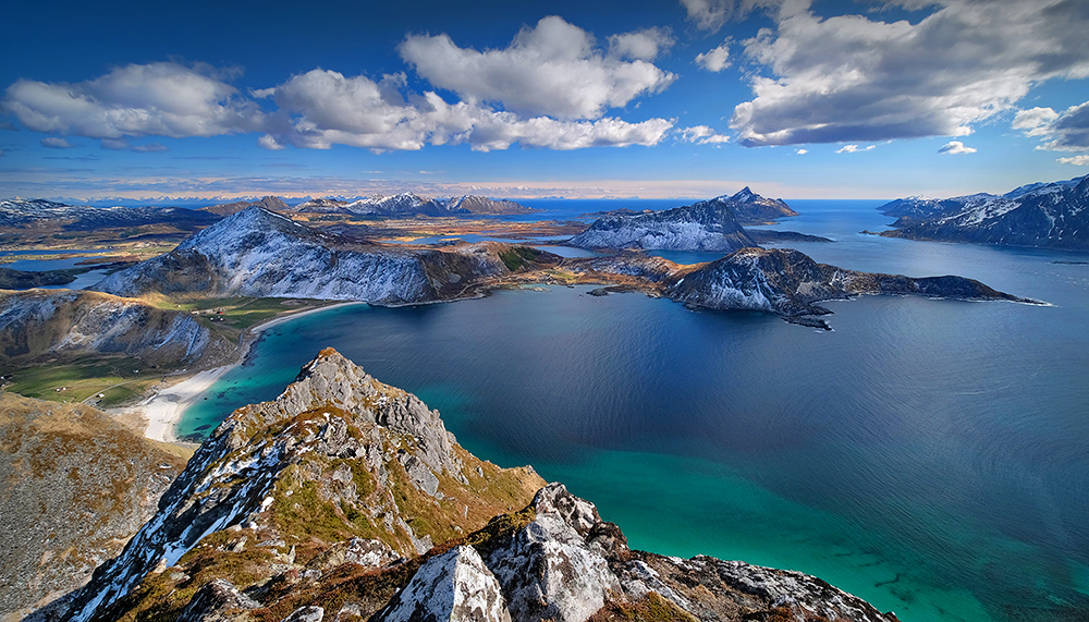 """A bird's-eye View"" - Veggen, Norway"