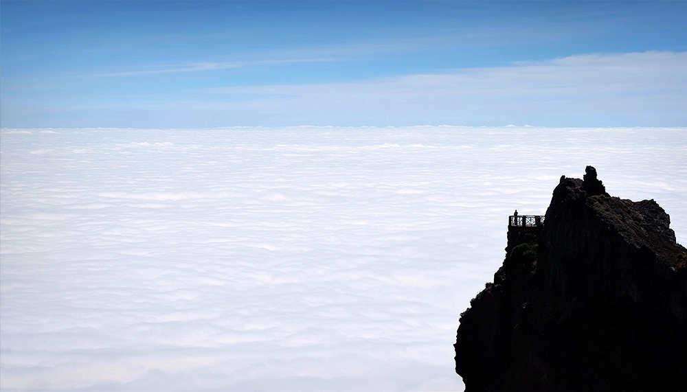 """The Final Frontier"" - Pico do Arieiro, Madeira"