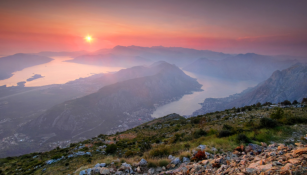 """A Perfect Evening Vol.2"" - The Bay of Kotor, Montenegro"