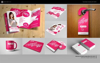 Selection of Graphic Design Work 2012-2016