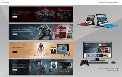 Microsoft Store Portfolio 2014-2018 - P1