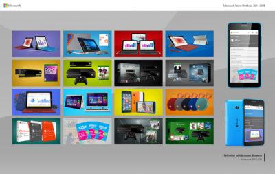 Microsoft Store Portfolio 2014-2018 - P3