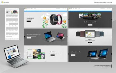 Microsoft Store Portfolio 2014-2018 - P8
