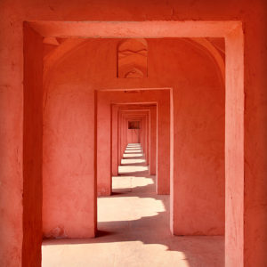 India 34 - Red Tunnel