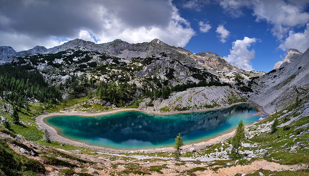 """In the Heart of the Mountains"" - Ledvici Lake, Slovenia"