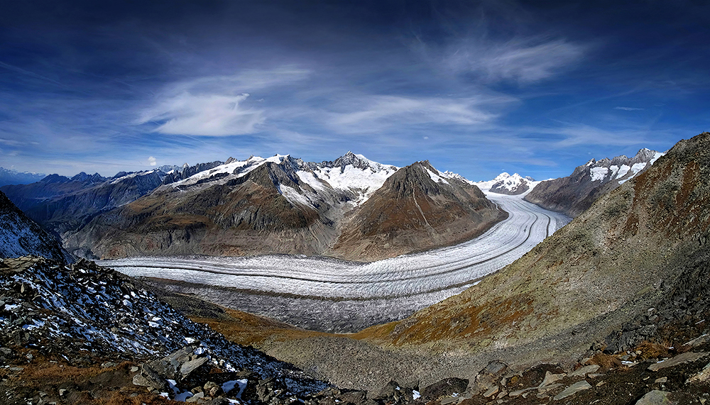 """The River of Ice"" -Vol.2- Aletsch Glacier, Switzerland"