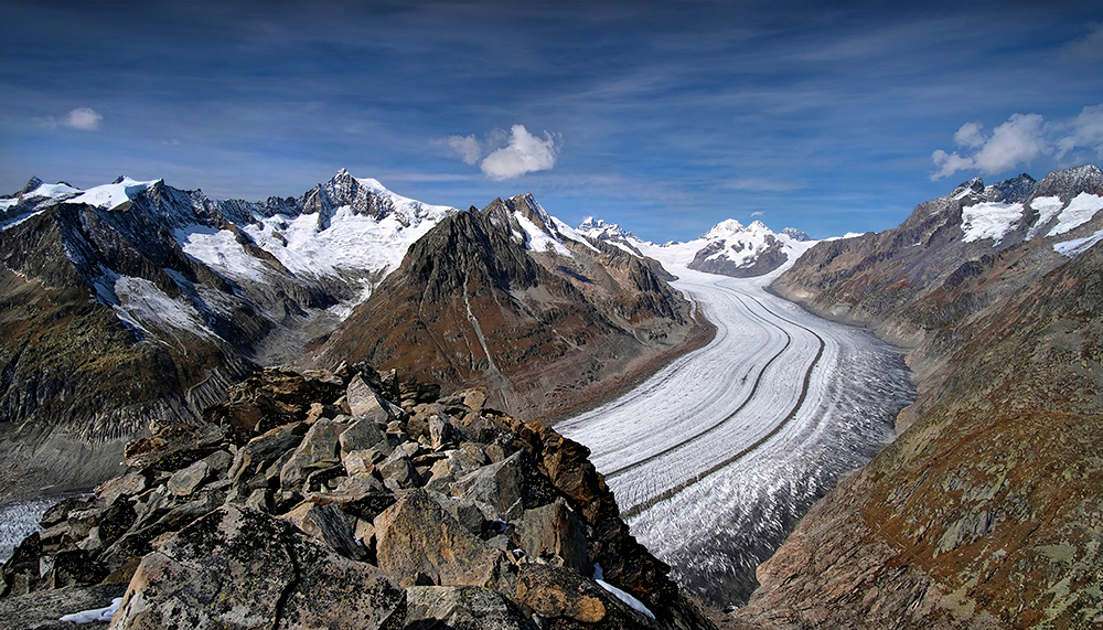 """The River of Ice"" -Vol.1- Aletsch Glacier, Switzerland"