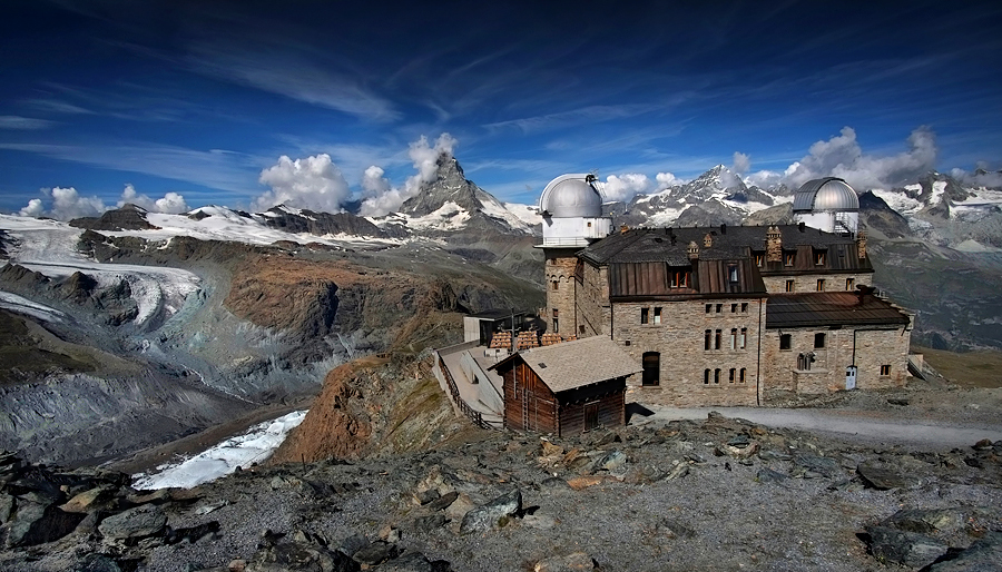 The Gornergrat (3,089 m), Switzerland