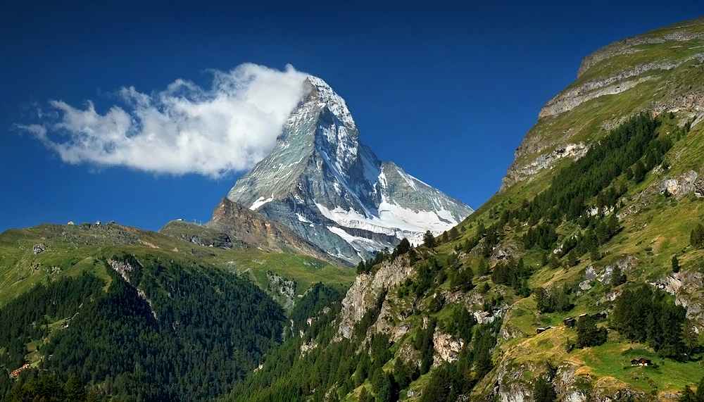 Matterhorn (4,478 m), Switzerland
