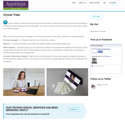 Antinitus - Corporate and Product Photography