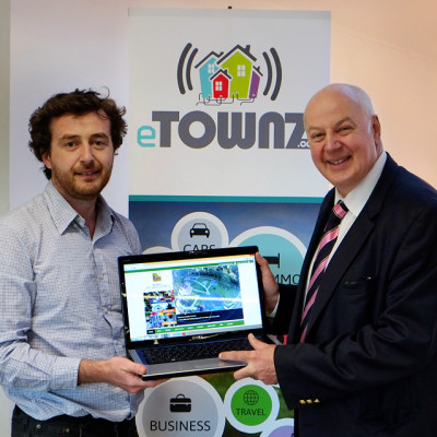 Official launch day for the Mountmellick eTown website