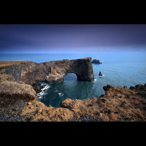 Iceland - Dyrholaey Arch