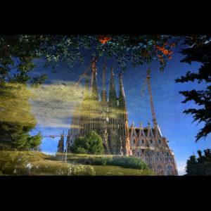 """Catalonia 08 - """"Another Dimension"""" - La Sagrada Familia, Barcelona, Spain"""