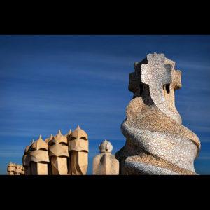 "Catalonia 10 - ""In Gaudis Footsteps"" -Vol.3- Casa Milà, Barcelona, Spain"