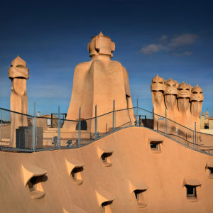 "Catalonia 16 - ""In Gaudis Footsteps"" -Vol.5- Casa Milà, Barcelona, Spain"