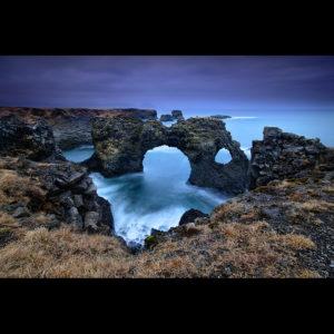 Iceland - Gatklettur Arch