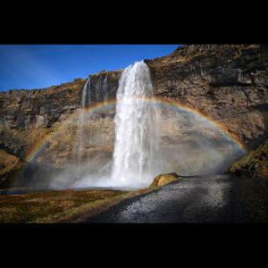 Iceland - Seljalandsfoss 01