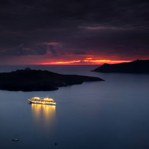 "Santorini, Greece - ""Safe Harbour"""