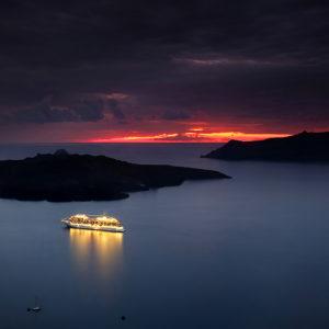 """Santorini, Greece - """"Safe Harbour"""""""