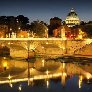 Italy11 - Vatican by Night