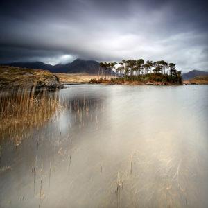 LongExposure01 - Pine Island, Derryclare Lough, Connemara