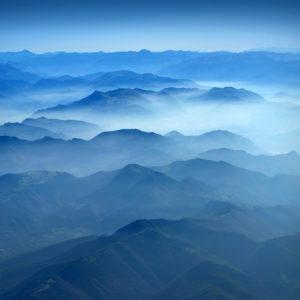 "Dolomites33 - ""Deep Blue"""