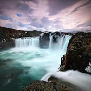 LongExposure22 - Godafoss, Iceland