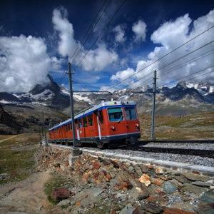 SQR03 - Gornergrat - Little Red Train 01