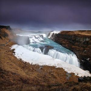 LongExposure23 - Gullfoss, Iceland