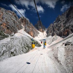 "Dolomites14 - ""Heavenly Chariots"""