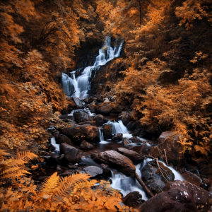 LongExposure07 - Torc Waterfall, Co. Kerry, Ireland