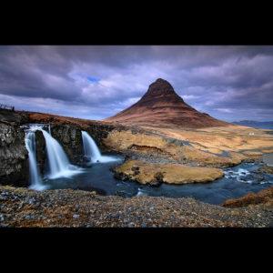 LongExposure32 - Kirkjufellsfoss, Iceland