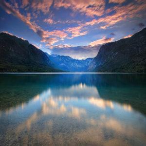 LongExposure32 - Lake Bohinj, Slovenia