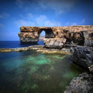LongExposure11 - Azure Window, Gozo