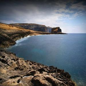 LongExposure12 - Fungus Rock, Gozo